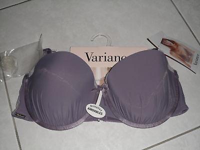Soutien Gorge Variance Violet (parme) Taille 90c Neuf