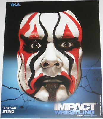 Tna Sting P-53 Impact Wrestling 8x10 Promo Photo