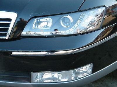 Holden WK Caprice Statesman LED DRL Black Headlights WL all new LED Headlights