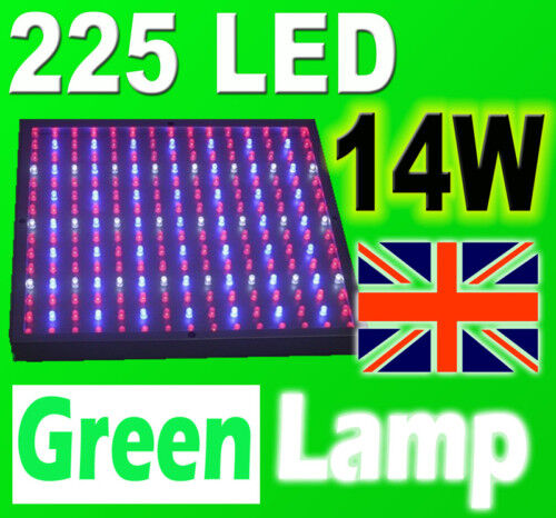225 LED 14W Grow Panel Red Blue Hydroponic Light Board