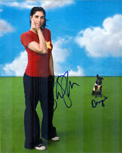 Sexy-SARAH-SILVERMAN-Signed-8x10-W-Proof