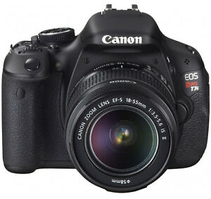 Canon-EOS-Rebel-T3i-18MP-DSLR-Camera-W-EF-S-18-55mm-Lens-3-LCD-8SD-5-Bonuses