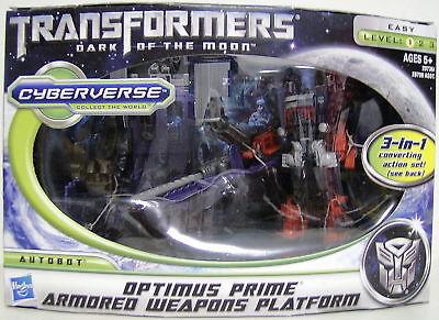 Optimus Prime Armored Weapons Platform Transformers 3 Dotm Movie 3-in-1 2011