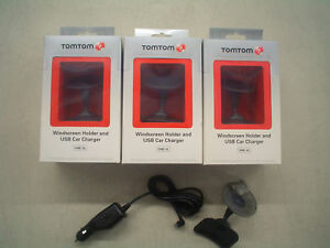 TomTom-One-XL-XL-S-Windshield-Holder-USB-Car-Charger