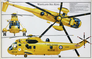 Westland-Sea-King-British-RAF-SAR-helicopter-poster