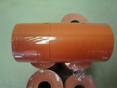 Labels Flat Red For Monarch 1110 1 Sleeve -16 Rolls