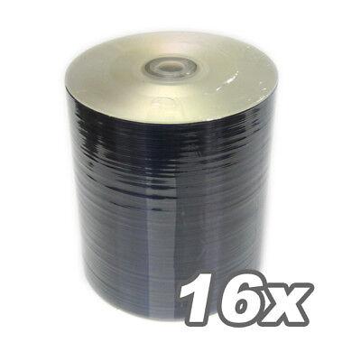 200PCS DVD-R 16x SILVER SHINY Blank Media 4 Duplication