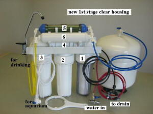 Reef Home Drinking Ro Di Dual Output Reverse Osmosis Pure