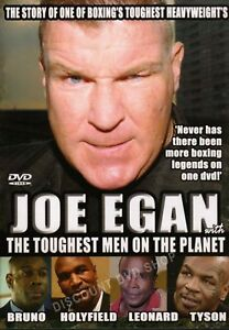 JOE EGAN WITH THE TOUGHEST MEN ON THE PLANET