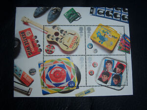 THE-BEATLES-ROYAL-MAIL-2007-BRITISH-STAMPS-4-SET-MINT-UNUSED-legal-tender