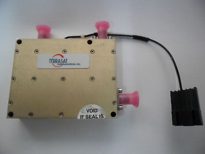 Terrasat Microwave 6.4 - 7.1 Ghz Rx Rf Mixer Sma Ed-0280-1 Mdc6471-035