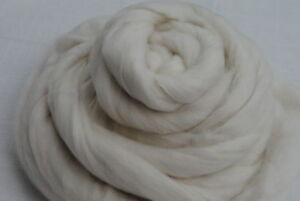 White-Merino-Wool-Top-Roving-500g-Felting-Spinning