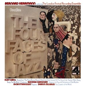 Bernard Herrmann - The Four Faces of Jazz 1973 CD