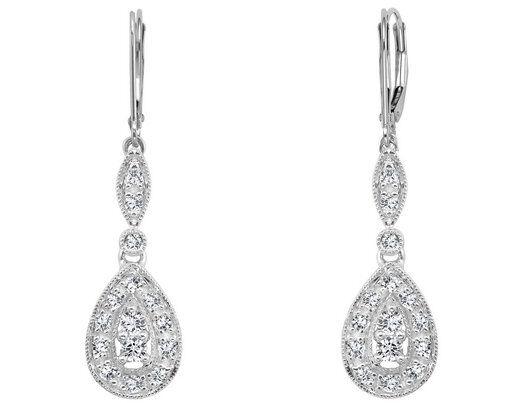 White Gold Diamond Earrings Buying Guide
