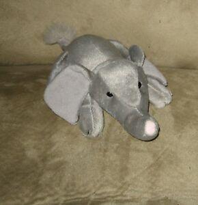 Cute-7-RUSS-Baby-Gray-Elephant-Safari-Relaxin-Stuffed-Plush-Animal-Pal