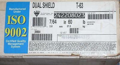60 Esab Dual Shield E70t-2 Welding Wire 7/64