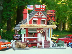 G-SCALE-LGB-SCALE-1-24-BUBBAS-TEXAS-BAR-B-QUE-JOINT