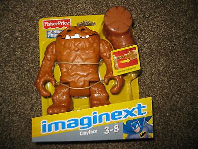 Fisher Price Imaginext DC Super Friends ClayFace Villain Batman World Figure toy