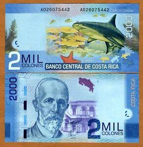 Costa-Rica-2000-2-000-Colones-2011-New-UNC