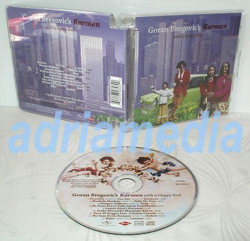 GORAN BREGOVIC CD Karmen with Happy End Gypsy Zigeuner Mashala Gas Carmen Lamour