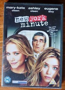 MARY-KATE AND ASHLEY New York Minute R4 DVD OLSEN TWINS