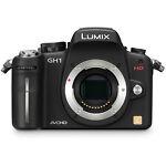 Panasonic LUMIX DMC-GH1K 12.1 MP Digital Camera - Black (Body Only)