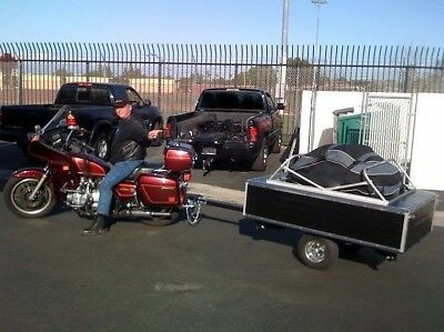 Pull Behind Motorcycle Tent Trailers