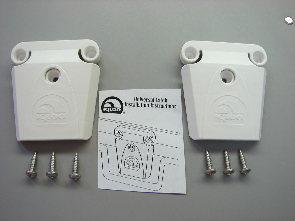 2 Igloo Cooler Part 24013-latch, Post And Screws
