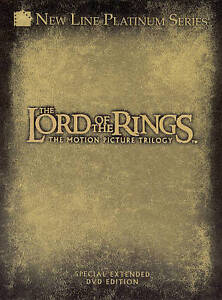 Lord-of-the-Rings-The-Motion-Picture-Trilogy-DVD-2004-4-Disc-Set-Extended-Editions-DVD-2004