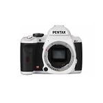 Pentax K-r 12.4 MP Digital SLR Camera - White (Body Only)