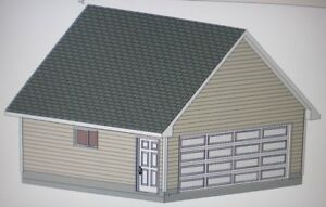 20 x 20 garage shop plans materials list blueprints for Material list for garage