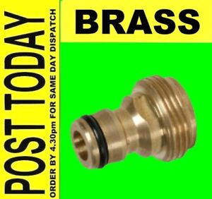 BRASS-Garden-Tap-Hose-Pipe-Connector-Adaptor-Male-screw