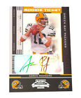 Autographed Aaron Rodgers Single Football Trading Cards