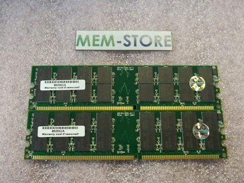 2gb (2x1gb) 184 Pin Ddr-333 Pc2700 Udimm Memory Desktops Upgrade