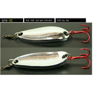Spoon-silver2-1oz-saltwater-fishing-lure-seabass-3Pcs