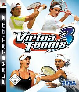 Virtua Tennis 3 (Sony PlayStation 3, 2007) PS3