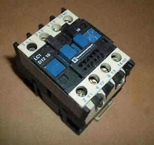 Telemecanique Iec Motor Starter Lc1d1210 Ebay