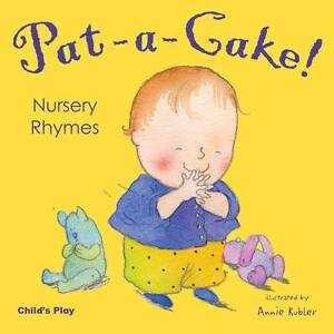 Pat-a-cake-Nursery-Rhymes-Nursery-Time-New-Condition