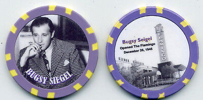 FLAMINGO AND BUGSY SIEGEL COLLECTOR  CHIP