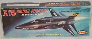 X 15 Rocket Plane Aviation x 15 Rocket Powered Airplane Aurora Kit DJ | eBay