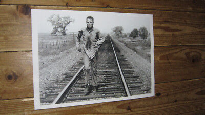 Cool Hand Luke Paul Newman Film Scene Run POSTER