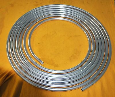 AllStar 516 Stainless Steel Brake Line Tubing 20Ft Coiled Transmission Fuel