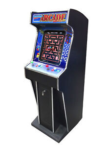 RETRO ARCADE MACHINE ILLUMINATED BIRTHDAY PRESENT  *NEW* SPACE INVADERS PACMAN