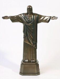 Jesus-Christ-The-Redeemer-Statue-Corocovado-Mntn-Brazil-Bronze-Finish-Figurine