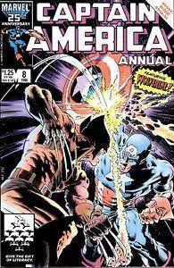 Captain America Annual #8 (1986, Marvel)