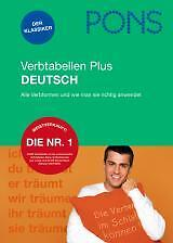 PONS Verbtabellen PLUS Deutsch, NEU