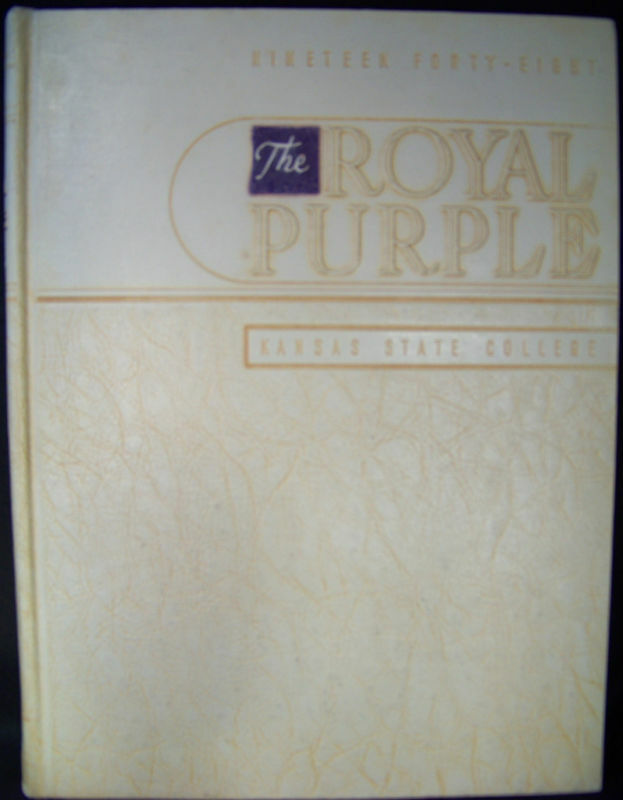 Royal Purple 1948 Kansas State College Yearbook