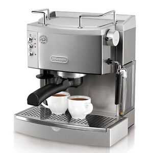 DeLonghi-EC702-Pump-driven-Espresso-Maker-stainless-steel-with-removable-tank