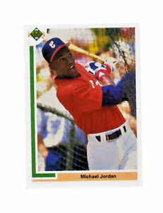 1991 Upper Deck Michael Jordan Chicago White Sox Sp1 Baseball Card