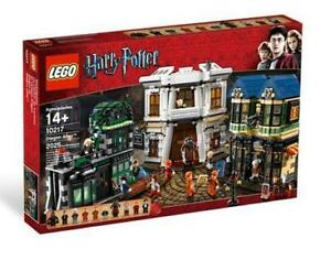 Lego Harry Potter 10217 Diagon Alley NISB Rare!